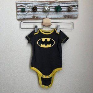 DC Batman Logo Design Onesie Short Sleeve